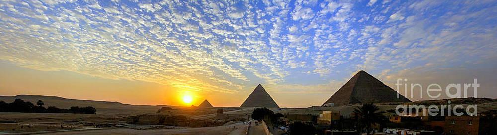 The Pyramids by Mina Isaac