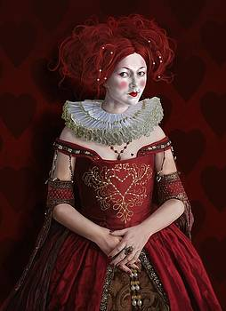 The Queen Of Hearts by Mark Satchwill