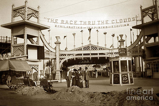 California Views Mr Pat Hathaway Archives - The Racing Thru The Clouds in Venice California Circa 1912