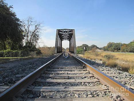 The Railroad Bridge by G Cannon