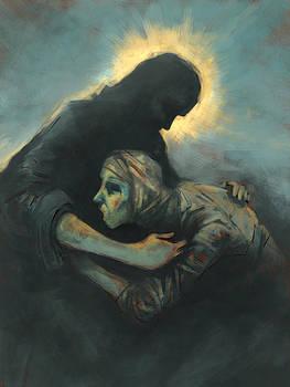The Raising of Lazarus by David Leiberg