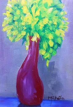 The Raspberry Vase by Maureen Ghetia