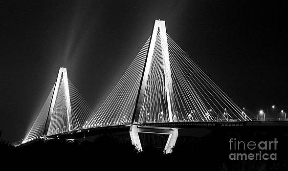 The Ravenel Bridge by Adam Dowling