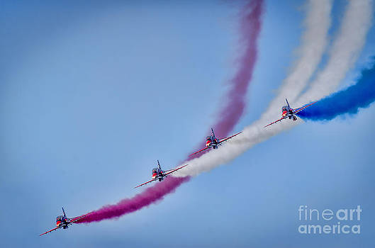 The Red Arrows  by Darren Wilkes