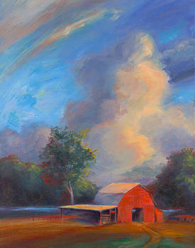 The Red Barn by Ann Litrel
