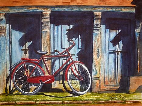The Red Bicycle by Judy Meng