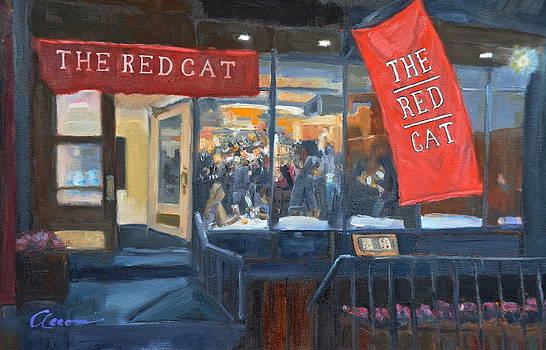 The Red Cat by Michael  Accorsi