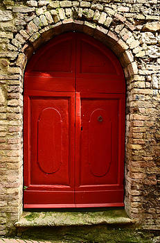 The red door by Dany Lison