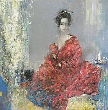 The Red Kimono by Grigor Malinov