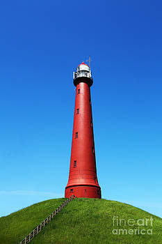 LHJB Photography - The red lighthouse of IJmuiden
