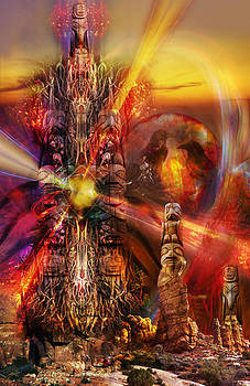 The Red Tower by Kenneth Hadlock