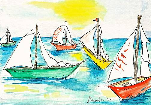 The Regatta by Brenda Ruark