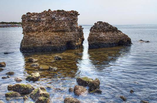 The Remains Of An Ancient Sea Port by Leonardo Marangi