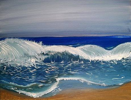 The restless ocean by Stephanie Bridge