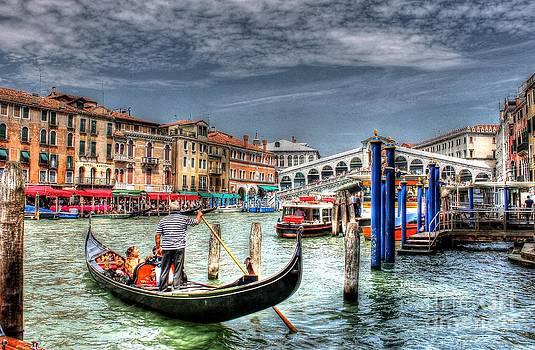 The Rialto Bridge - Venice by Ines Bolasini