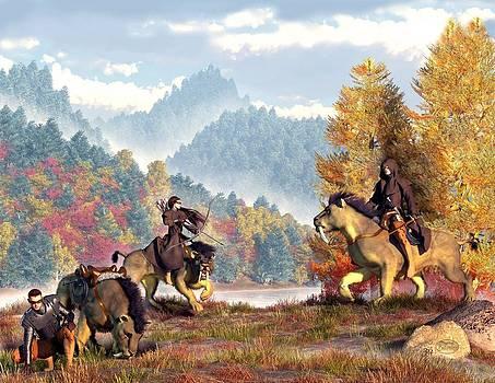 Daniel Eskridge - The Riders of the Krazar