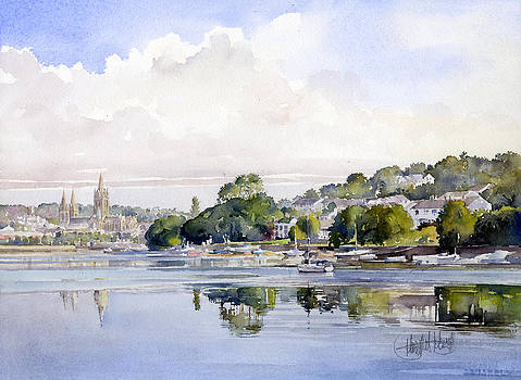 The river at Truro by Margaret Merry
