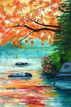 The River by Doris Cohen