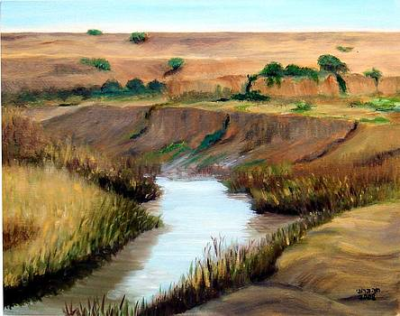 the river Jordan by Hannah Baruchi