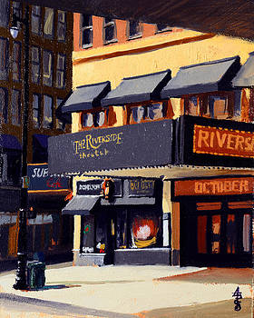 The Riverside Theater by Anthony Sell