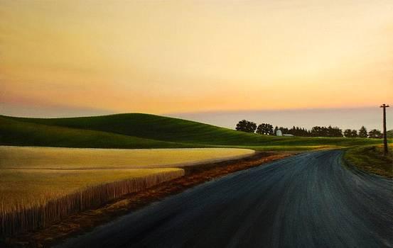 The Road near Estes by Leonard Heid