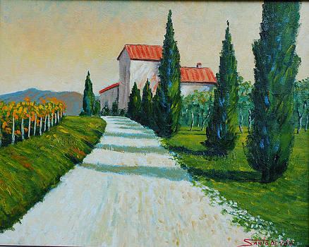 the road to MERCATALE by Santo De Vita