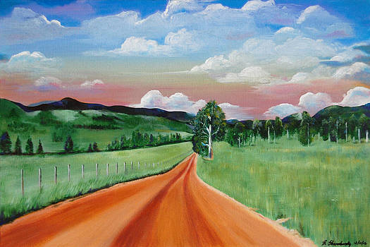 The Road To The Cabin by Barry Shereshevsky