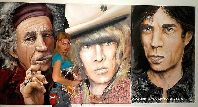 The Rolling Stones by Tamara Vogrin Tara