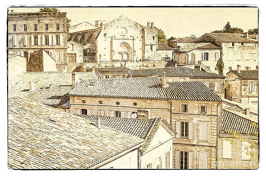 Heiko Koehrer-Wagner - The Rooftops of Saint-Emilion