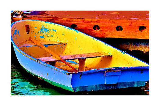 The Row Boat by Sharon  Lavoie