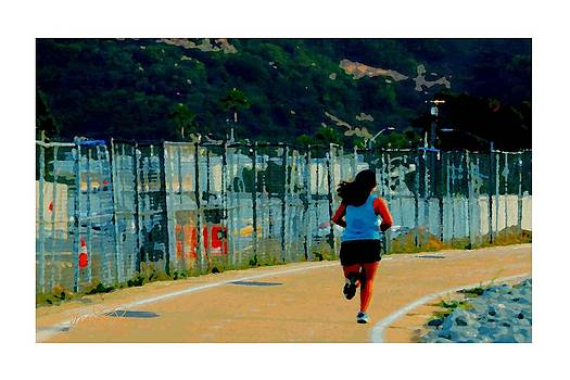 The Runner by Sharon  Lavoie