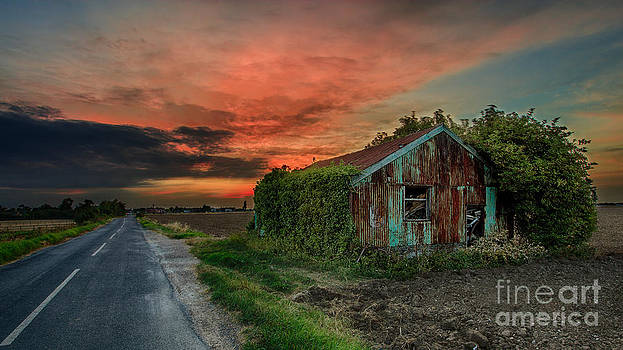 The Rustic Barn by Pete Reynolds