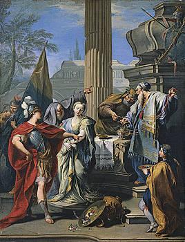 Giambattista Pittoni - The Sacrifice of Polyxena