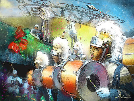 Miki De Goodaboom - The Saints Parade in New Orleans 2010 01