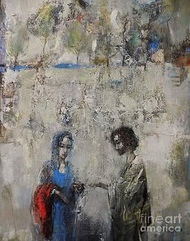 The Samaritan Woman at the Well by Grigor Malinov