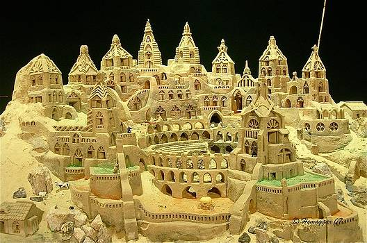 The Sand-Castle by Hemu Aggarwal
