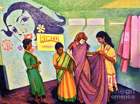 The Saree Lesson by Linda Zolten Wood