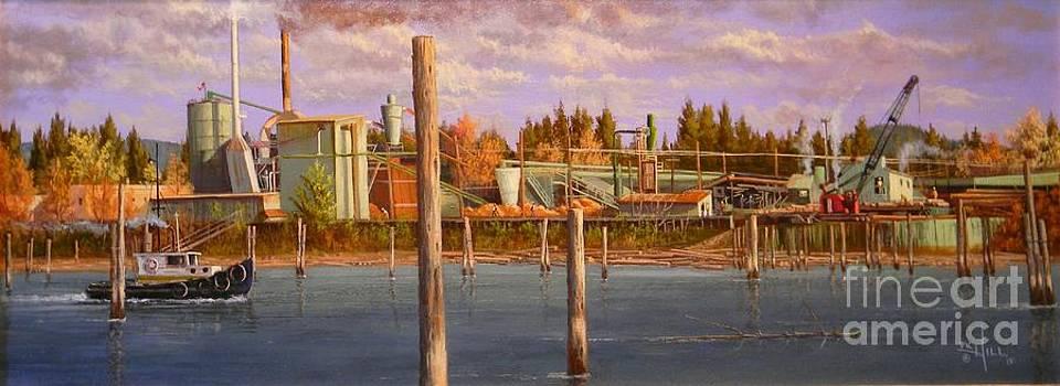 The Sawmill by Paul K Hill