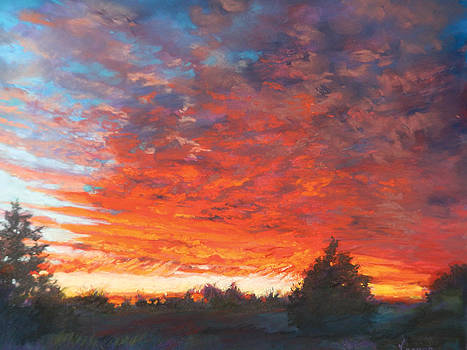 The Scarlet Sky by Karen Vernon