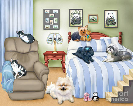 The Schofield s Bedroom  by Catia Lee