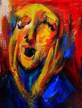The Scream IIII by Marina R Burch