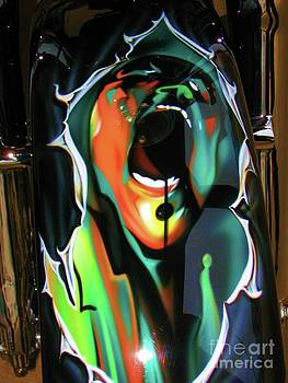 Susan Carella - The Scream - Pink Floyd Airbrush Art