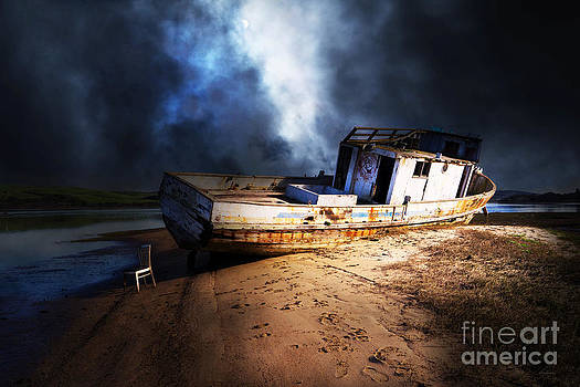 The Sea Never Gives Up Her Dead DSC2099 by Wingsdomain Art and Photography
