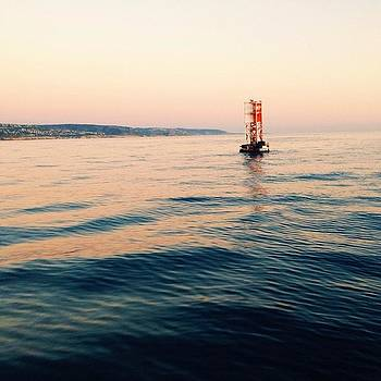 The Seal Buoy Is One Of Newport's by Ariane Moshayedi