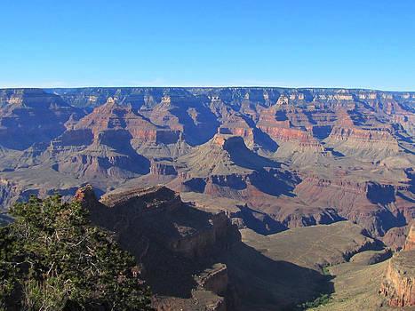 The Shadows of Grand Canyon by Barbara Chachibaya