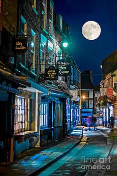 The Shambles street in York U.K HDR by Lilianna Sokolowska