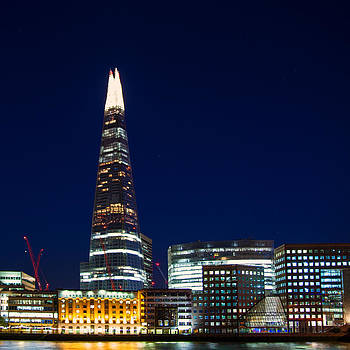 The Shard London by Wayne Molyneux