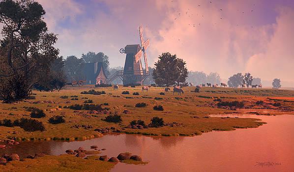 The Shepherd's Mill by Dieter Carlton