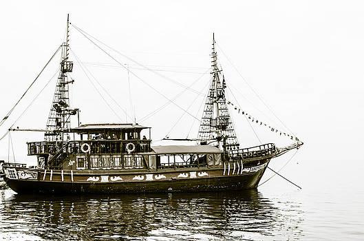 The ship. by Slavica Koceva