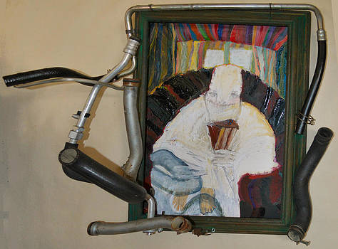 The Shoe Isn't Important The Run Is - Framed by Nancy Mauerman